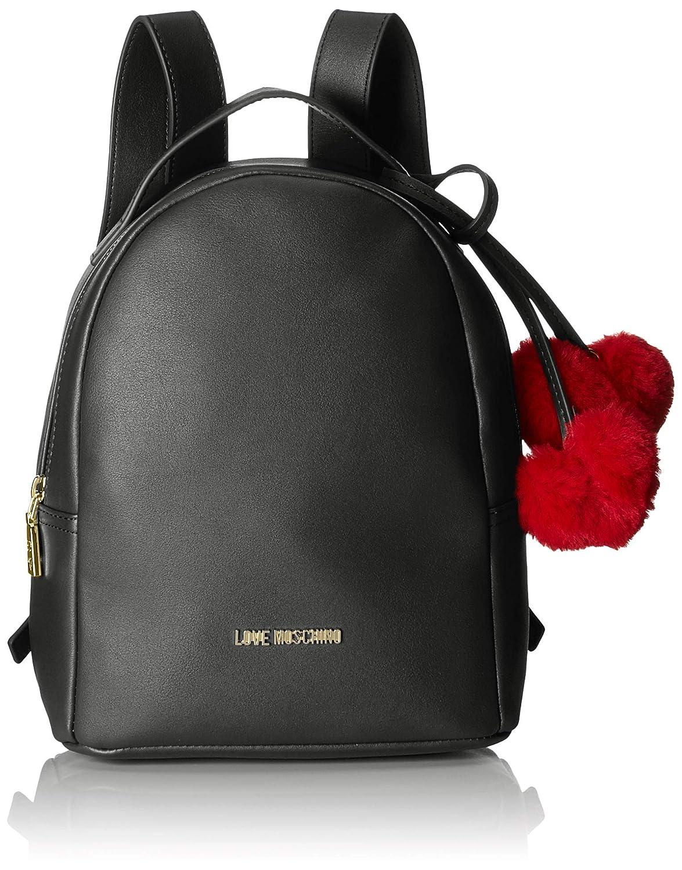Love Moschino Borsa Pin Grain Pu, Sacs porté s dos Sacs portés dos femme Marron (Cammello) 11x26x21 cm (B x H T) JC4323PP06KW0
