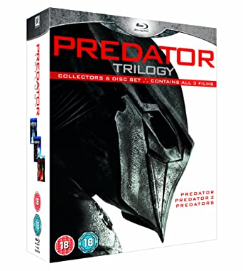 Predators Trilogy [Reino Unido] [Blu-ray]