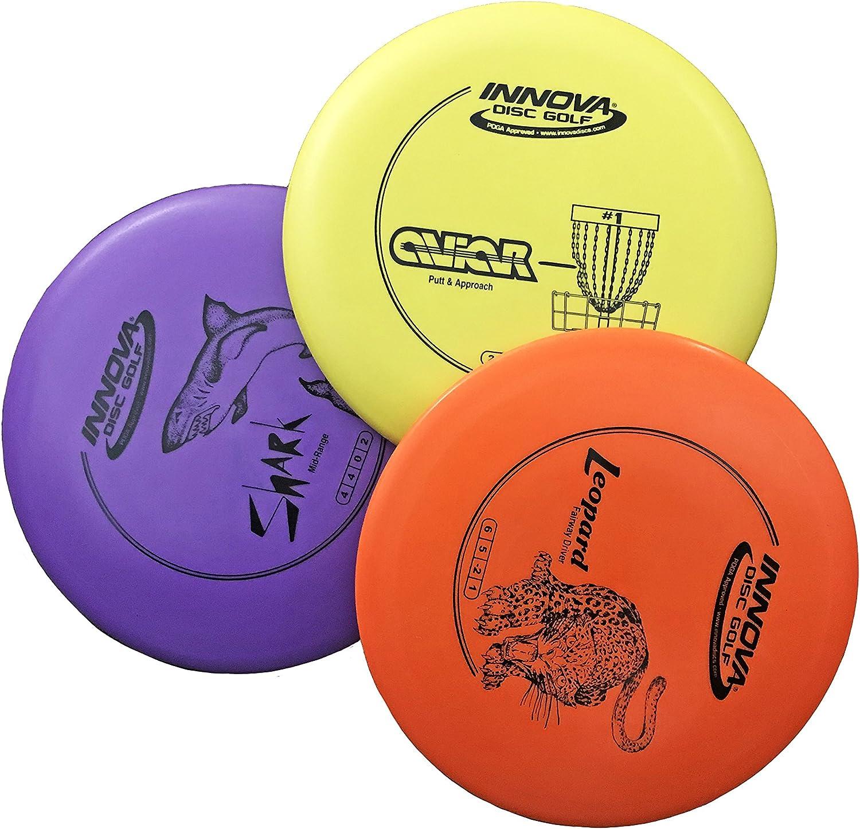 11+ Beginner disc golf set with bag information