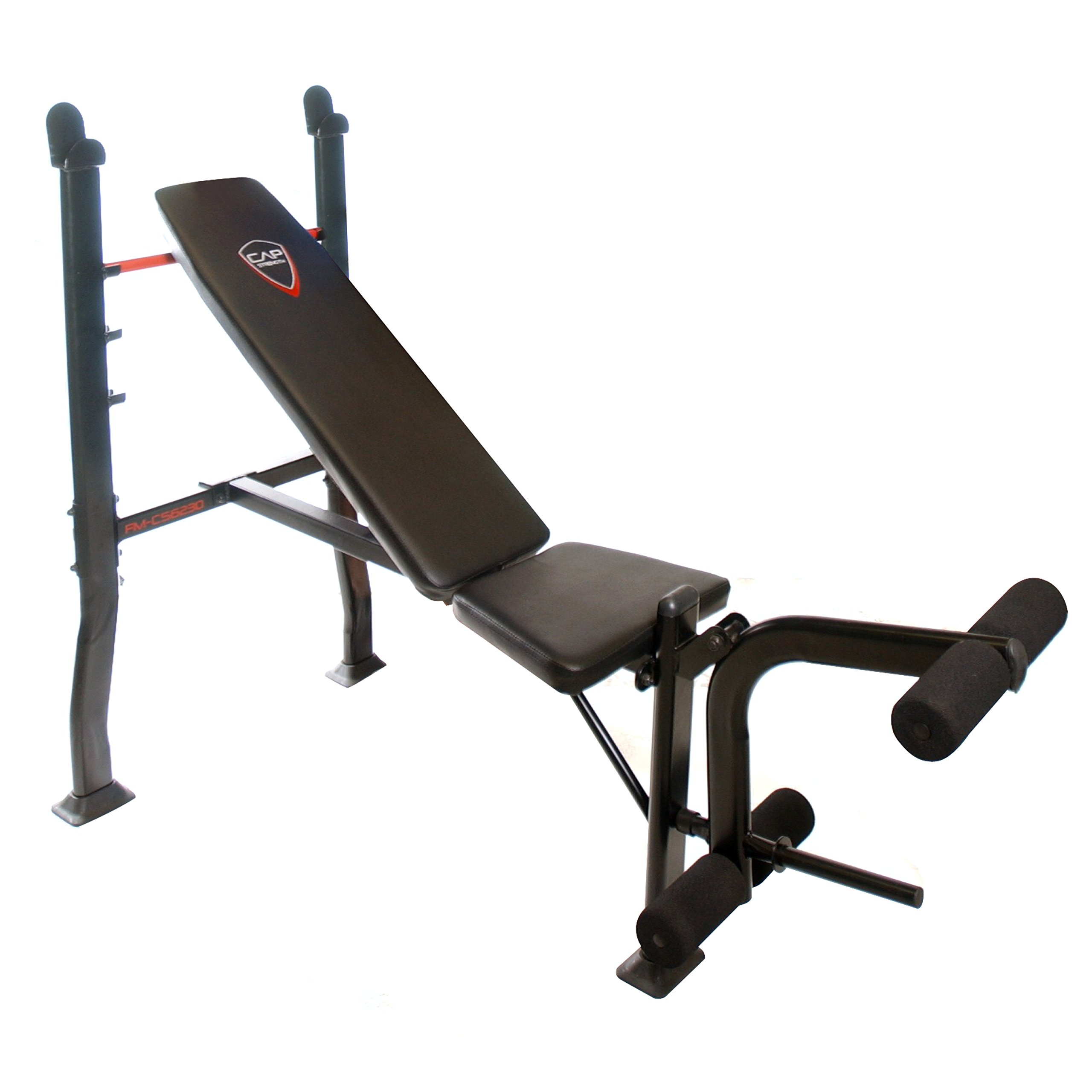 Deluxe Weight Bench Press Equipment Including a 100lbs Weight Set Bar Perfect for Home Gym Workouts Also Features Leg Preacher Curl Station and the Bench Is Adjustable for Incline Workouts and Regular Bench Press