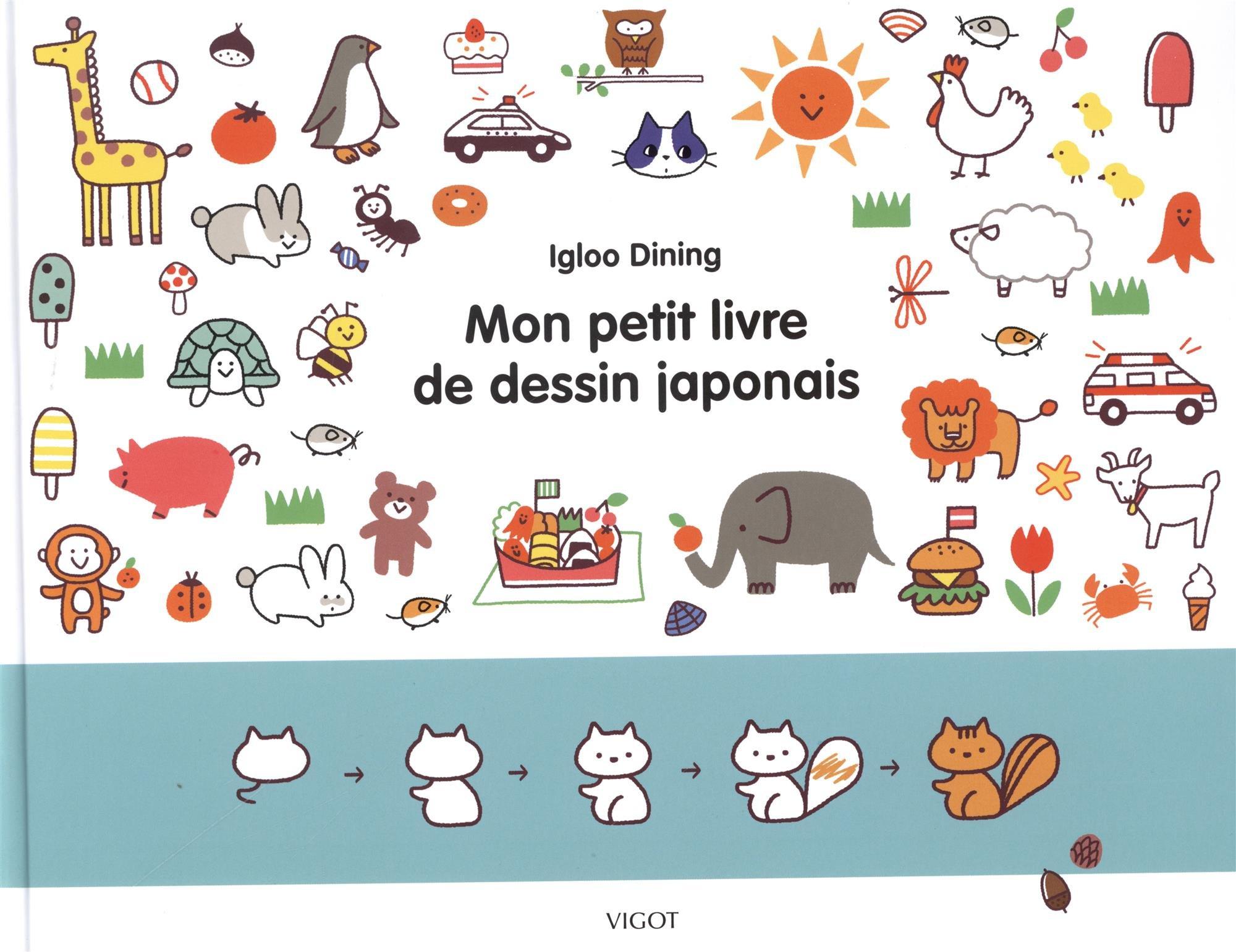 Mon Petit Livre De Dessin Japonais 9782711424801 Amazon