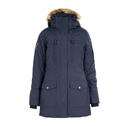 e2ea1380ed0 Image Unavailable. Image not available for. Color  Horze Brooke Women s  Long Quilted Padded Parka Waterproof Breathable Winter Jacket ...