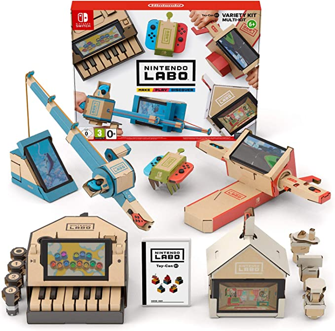 Switch Nintendo Labo: Toy-Con Kit variado: Amazon.es: Videojuegos