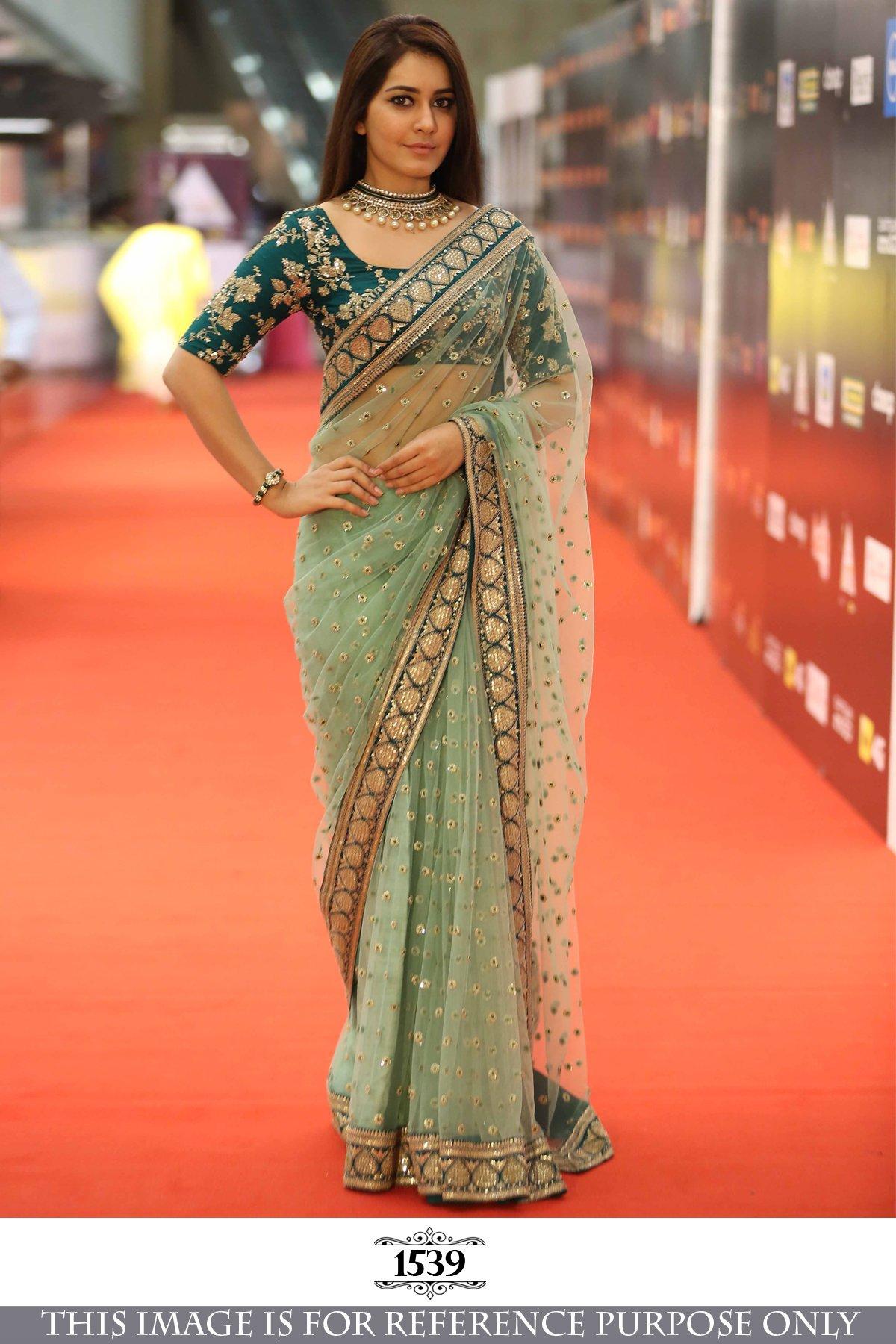 Delisa Fashion Women's Saree Sari Designer Indian Dress Bollywood Ethnic Party by Delisa (Image #2)