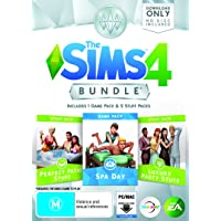 THE SIMS 4 BUNDLE PACK (Spa Day, Perfect Patio Stuff, Luxury Party Stuff)