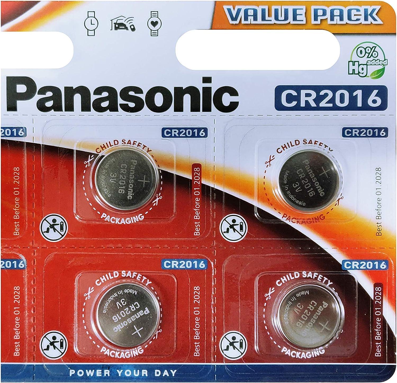 Panasonic Cr2016 3 V Lithium Batterie Elektronik