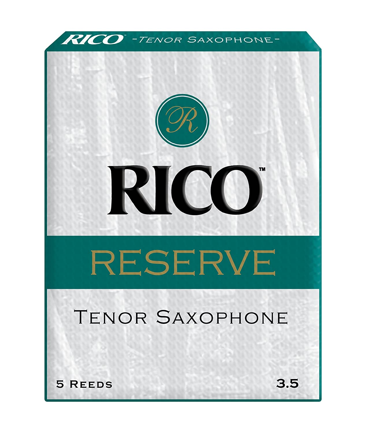 Rico Reserve Tenor Sax Reeds, Strength 3.0, 5-pack D'Addario &Co. Inc RKR0530