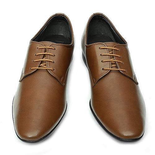 NOHIDE Black Vegan Leather Formal Shoes