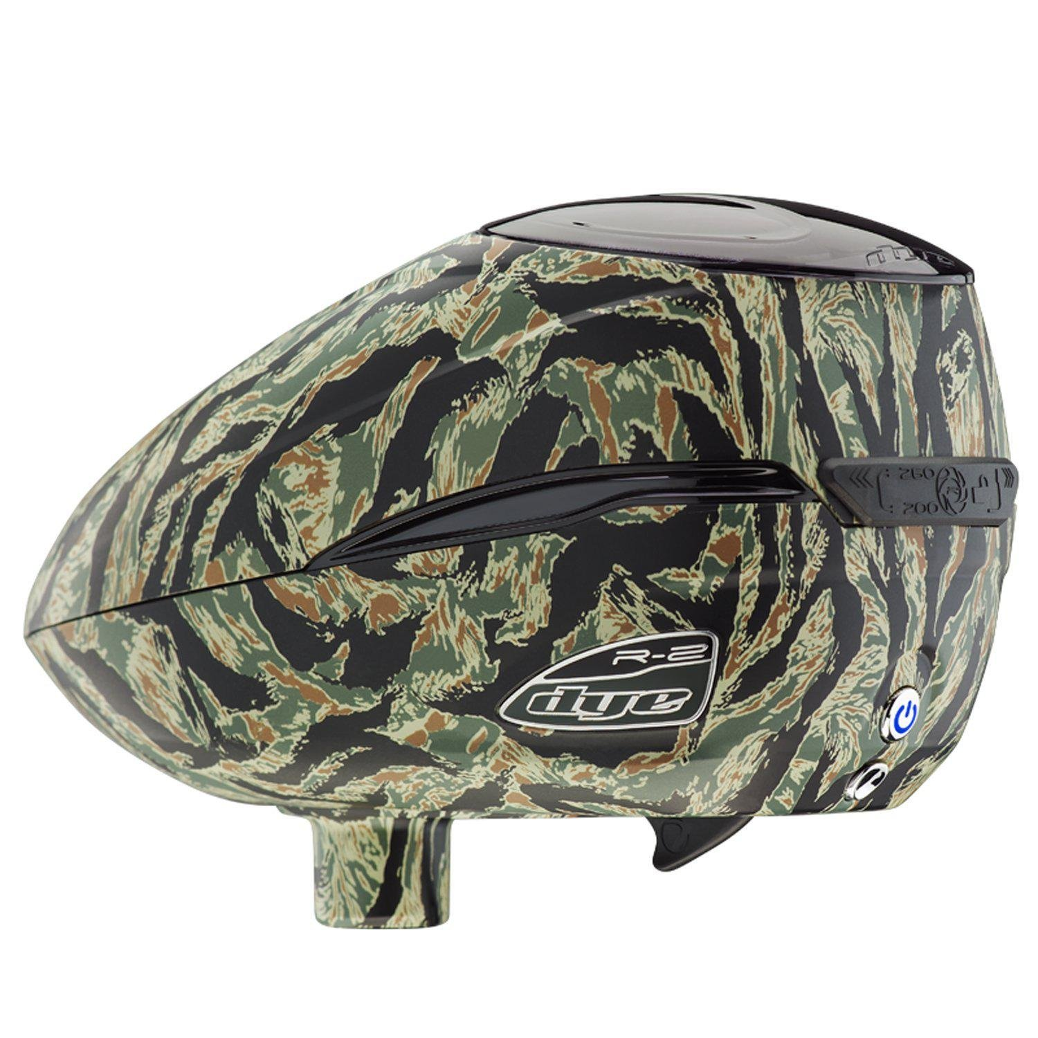 Dye R2 Electronic Paintball Loader (Tiger) by Dye