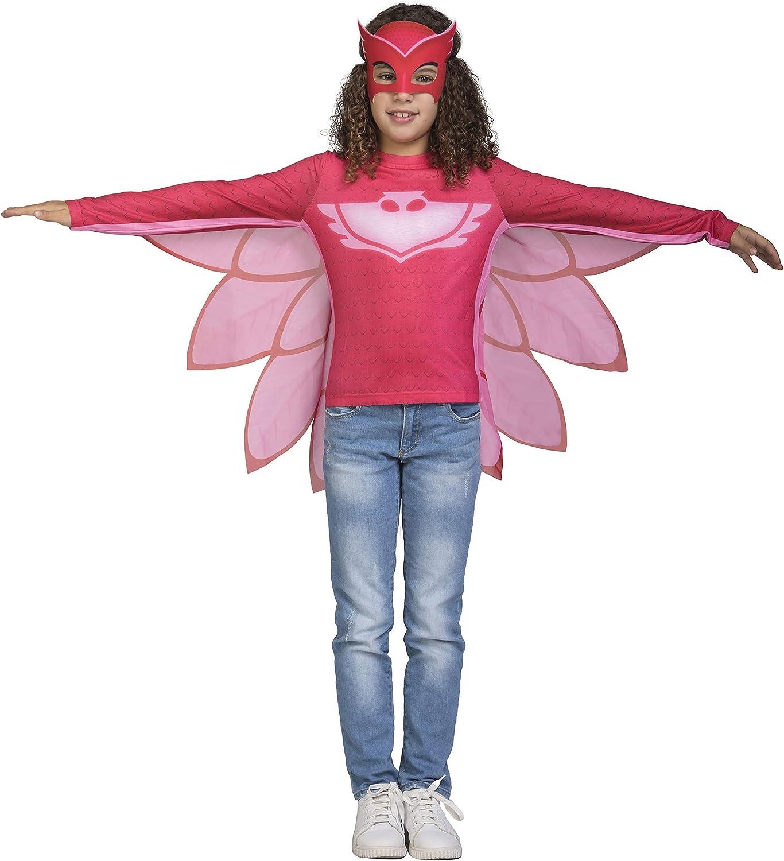 Viving Costumes-231297 Disfraz PJ Masks Owlette Camiseta, (231297 ...