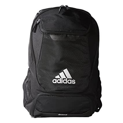 promo code 2e1ae 2e6ea adidas Stadium Team Backpack, Black, One Size