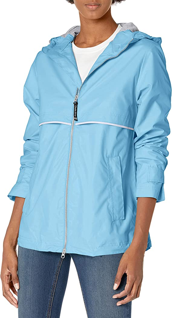 Charles River Apparel - Chaqueta impermeable para mujer
