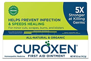 CUROXEN First Aid Ointment, 0 5oz | All-Natural & Organic Antibiotic  Ointment