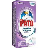 Desodorizador Sanitário Pato Pastilha Adesiva Lavanda 3 unidades