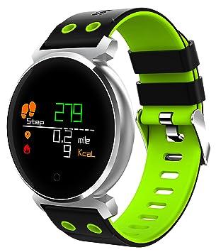 Supersun pulsera inteligente color relojes lcd presión arterial Heart Rate Monitor Cardiaco IP68 impermeable natación Wearable