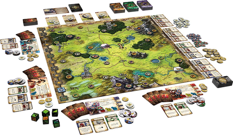 Asterion 9060 - Juegos Runebound: Amazon.es: Juguetes y juegos