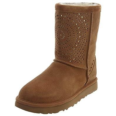 ugg classic short boots chestnut