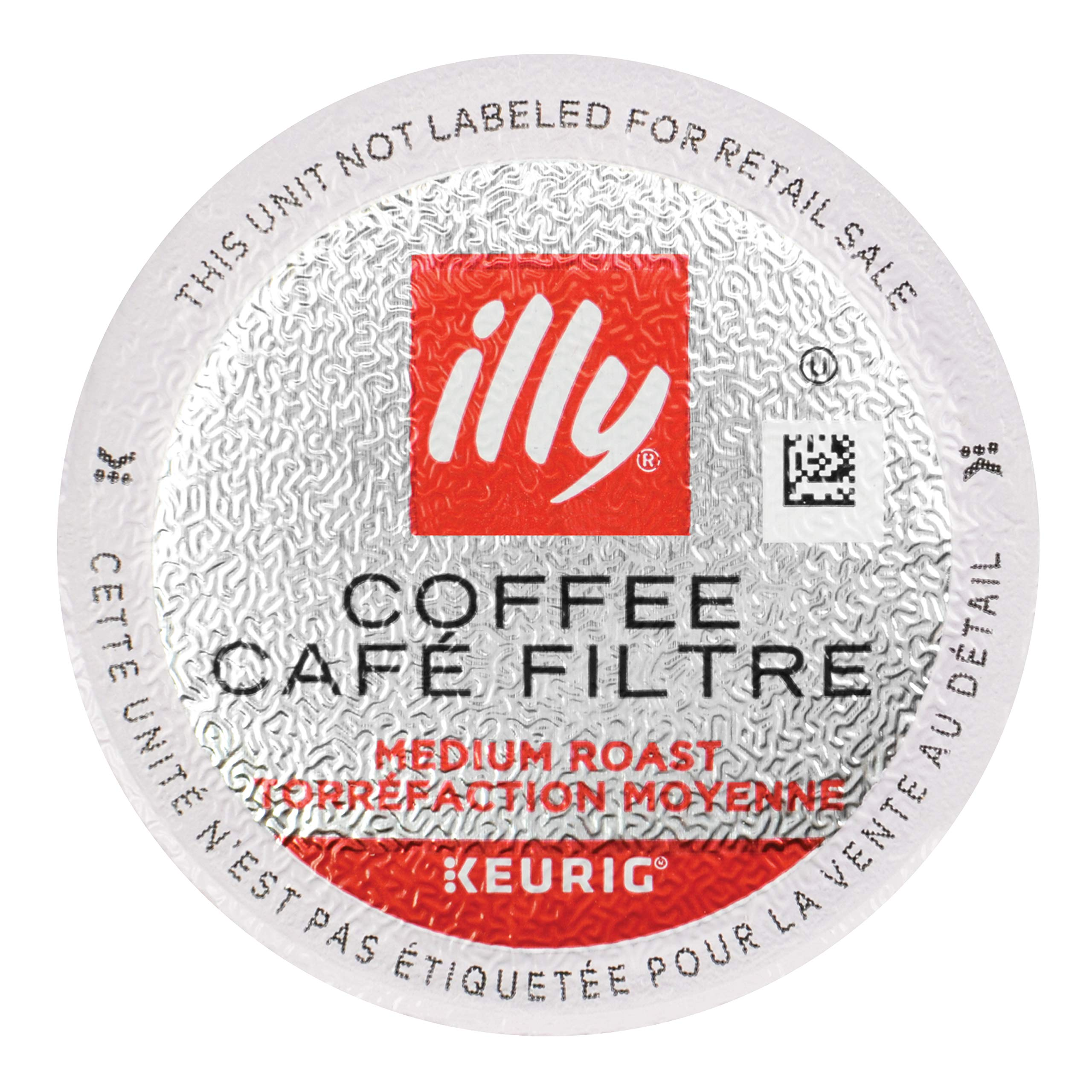 illy Coffee, Medium Roast, K-Cup for Keurig, 100% Arabica Bean Signature Italian Blend, Premium Gourmet Roasted Single Serve Drip Brewed Coffee,  Made for Keurig K-Cup Brewers, 10 Count, Pack of 6 by Illy