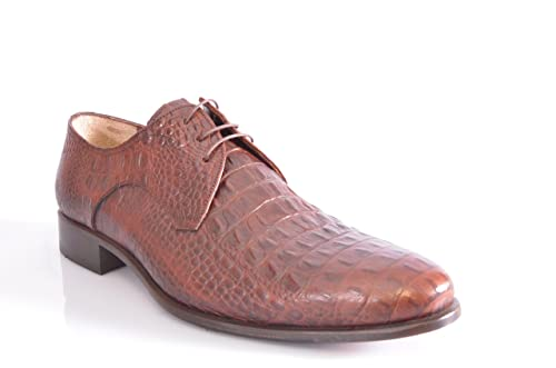 premium selection 7817d 37f01 Atelier MC 60207 Luxury Handmade Business Schuhe Kroko-Optik ...