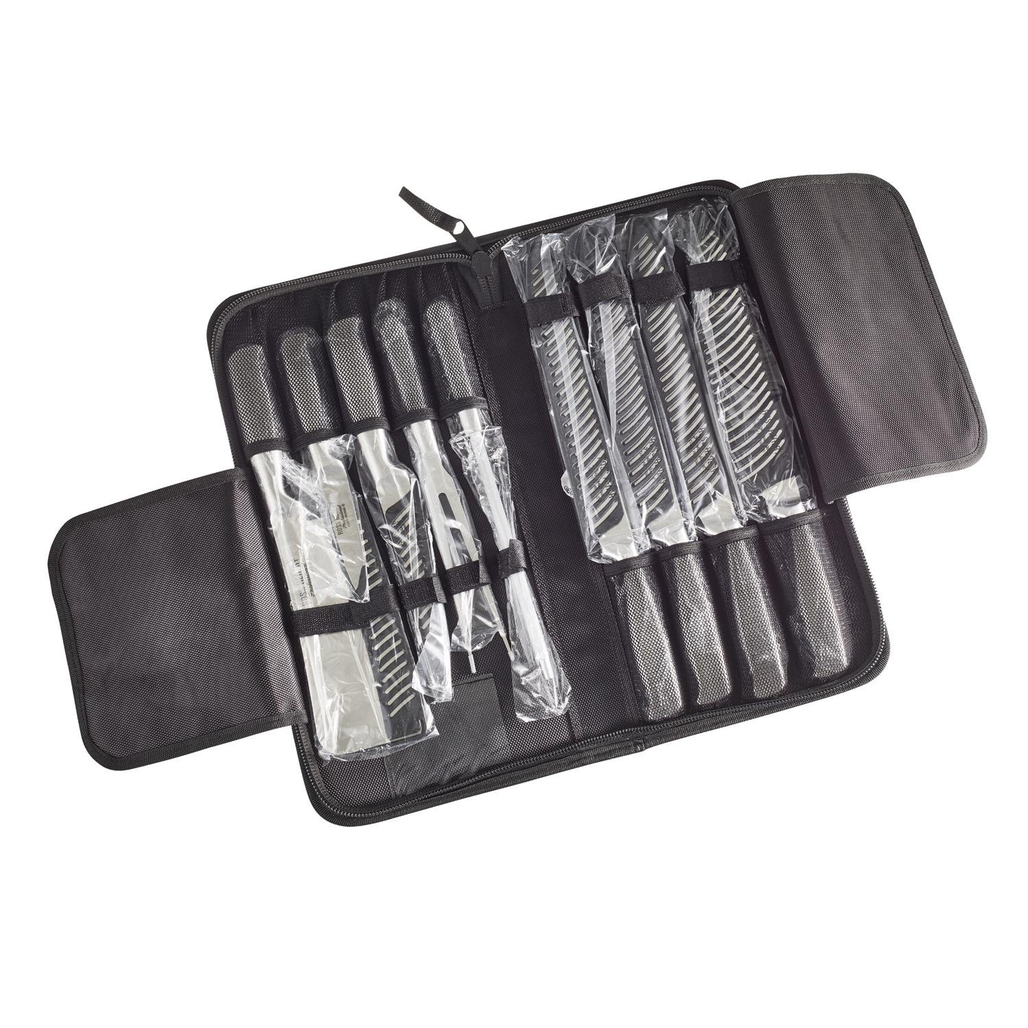 Ross Henery Professional Eclipse Premium stainless Steel 9 piece chefs knife set in carry case by  Ross Henery Professional (Image #3)