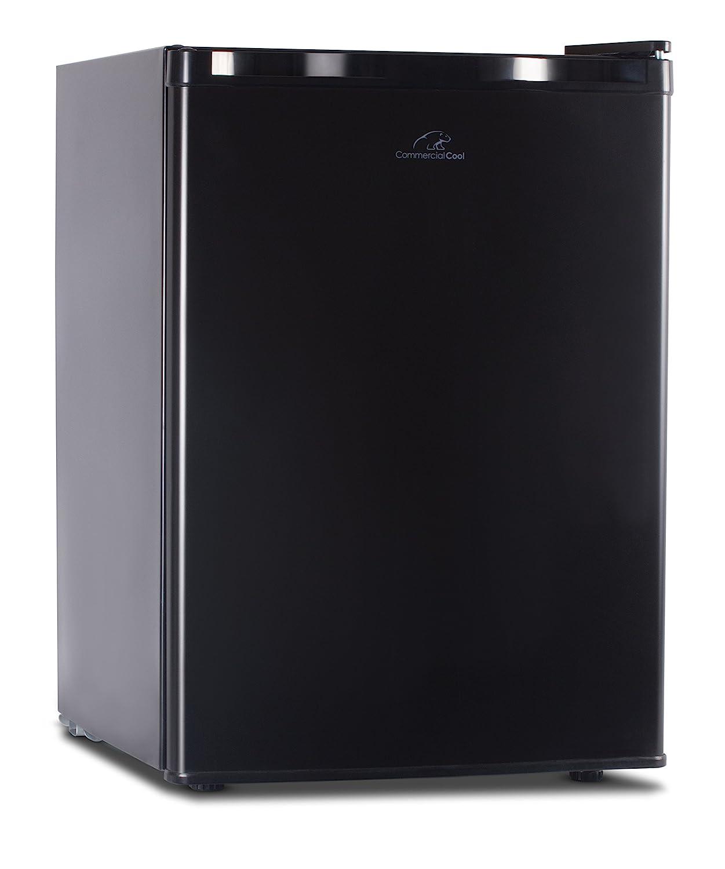 B00OPAGI9S Commercial Cool CCR26B Compact Single Door Refrigerator and Freezer, 2.6 Cu. Ft. Mini Fridge, Black 81UnYWv5X2L._SL1500_