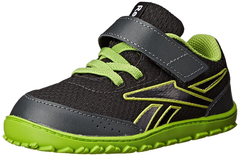 Reebok Ventureflex Stride II Classic Shoe (Infant/Toddler) 2 M US Infant VENTUREFLEX STRIDE II - K