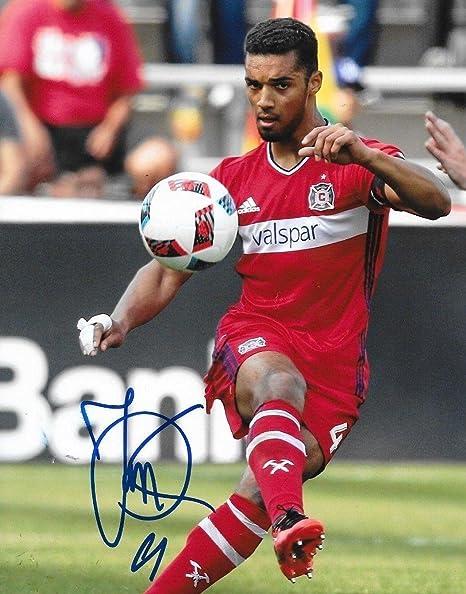sneakers for cheap 4af39 65e9d Johan Kappelhof signed Chicago Fire MLS Soccer 8x10 photo ...