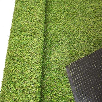 Amazon Com Ecover Artificial Grass Outdoor Rug 60 X120 Faux Fake