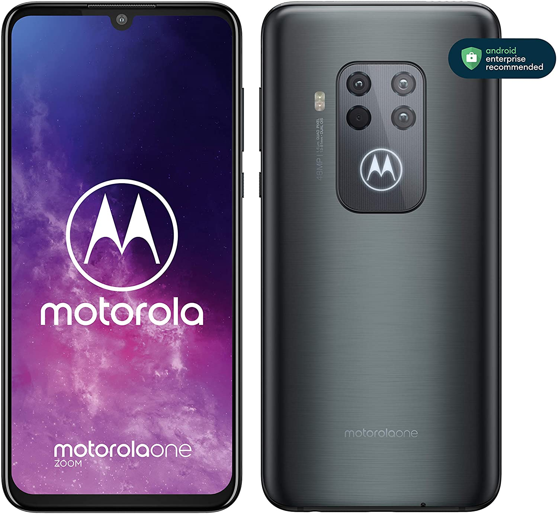 Motorola One Zoom - Smartphone con Alexa Hands-Free, Pantalla 6,4 ...