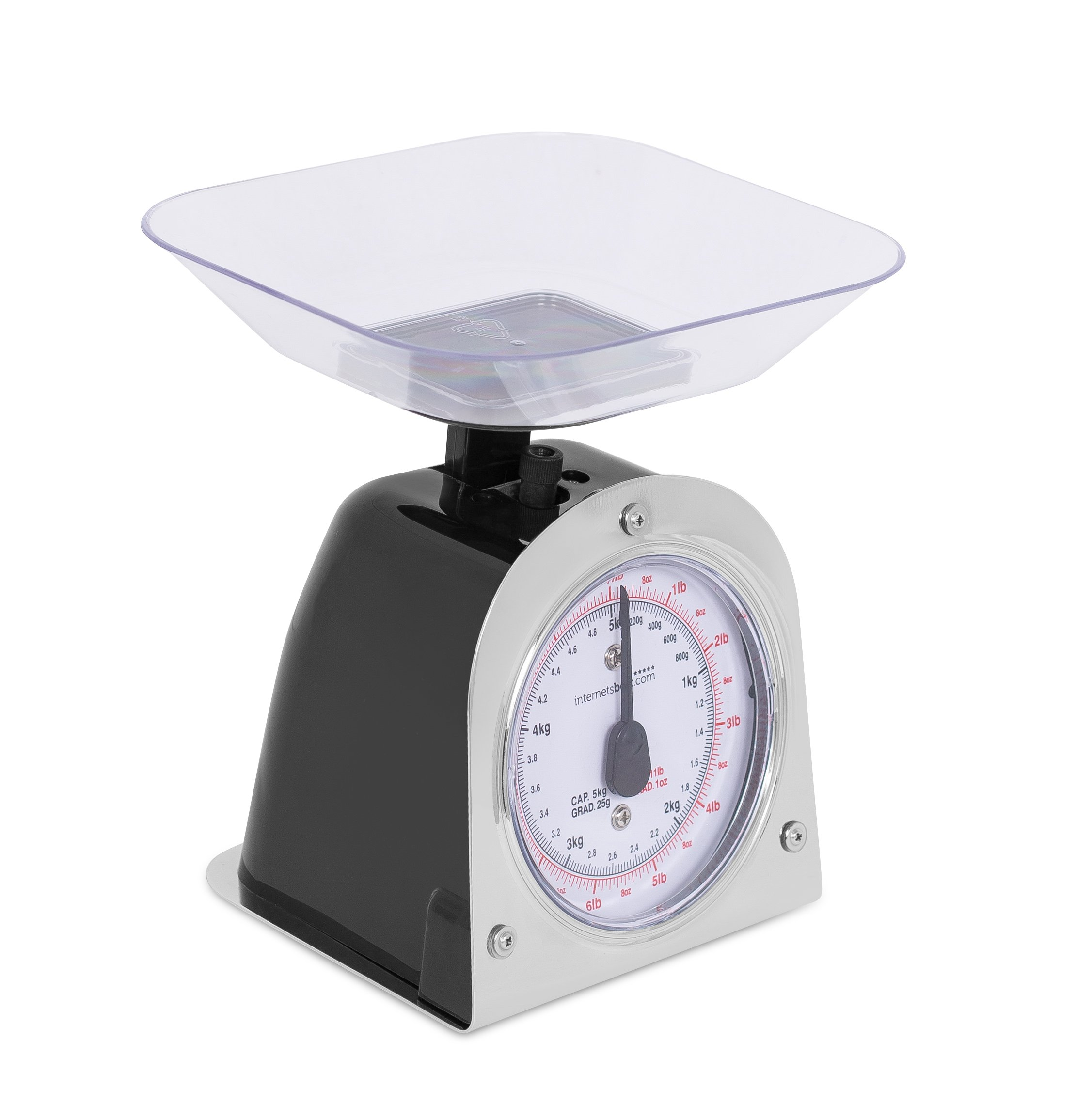 Internet's Best Mechanical Kitchen Food Weight Scale with Bowl | Accurate Measurements | Weighs Up 11 Lbs | 1KG - 5KG by Internet's Best (Image #4)