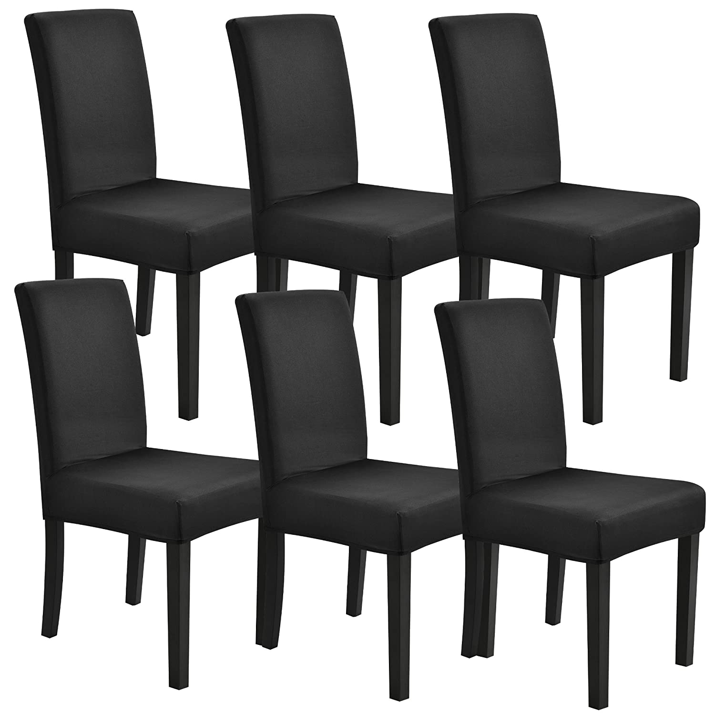 [neu.haus]® Fodera per sedie in un set di 6 articoliColor sabbiaElastico per sedie in varie misure