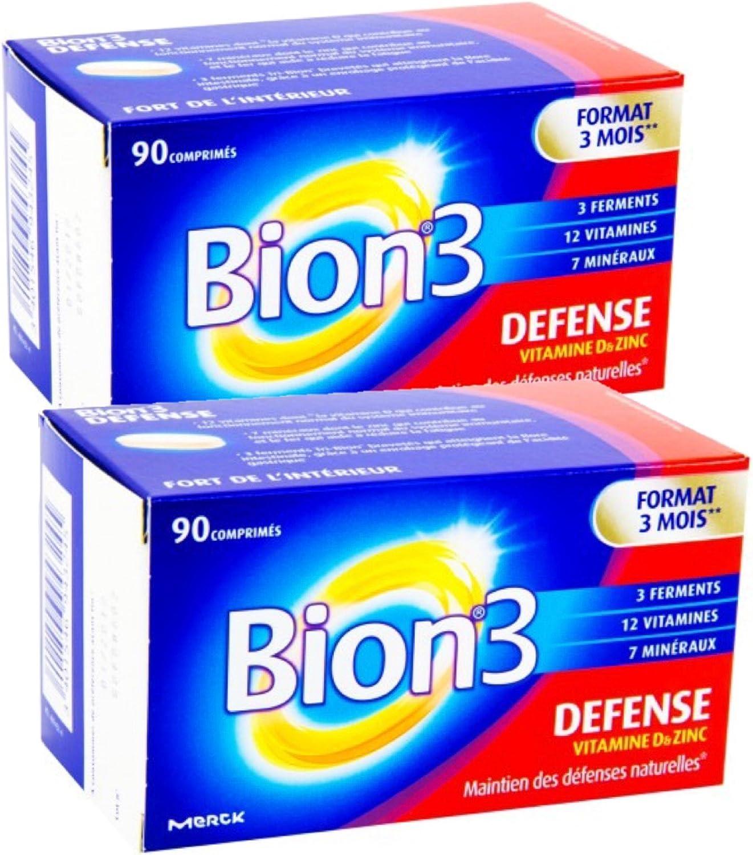 Bion 3 Vitamines Mineraux Activateur De Sante Defense Adultes 2 X 90 Comprimes Amazon Fr Hygiasne Et Soins Du Corps
