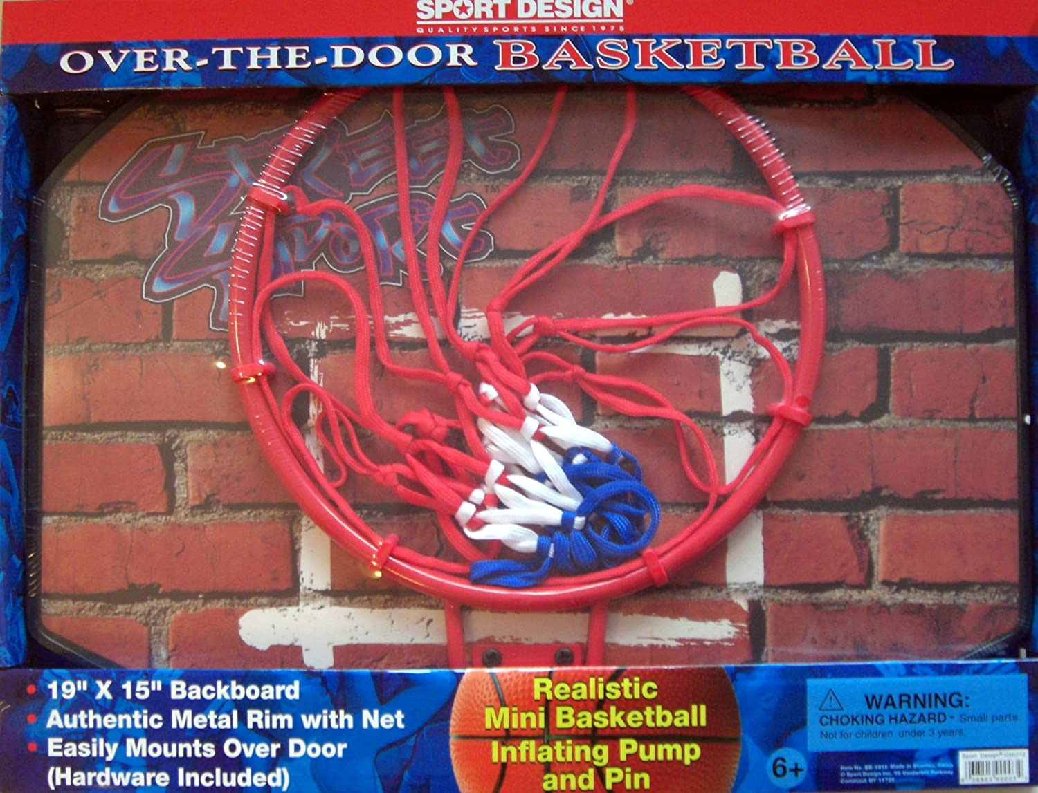 Sport Design Over The Door Basketball Instructions product image goaliath 18 mini basketball hoop Amazoncom Sport Design Over The Door Basketball Backboard Hoop Toys Games