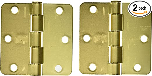 Galavanized DP908BC Lifespan Heavy T-Hinge Stanley Hardware S838-748 3-1//2in