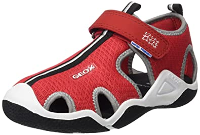 aecb6a06ea Geox Boys' Jr Wader C Closed Toe Sandals: Amazon.co.uk: Shoes & Bags