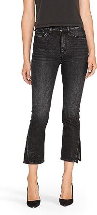 Hudson Jeans Womens Isla Midrise Crop Skinny with Released Hem Jean