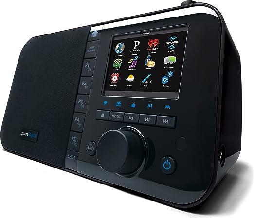Amazon.com: Reproductor de música WiFi con pantalla a ...