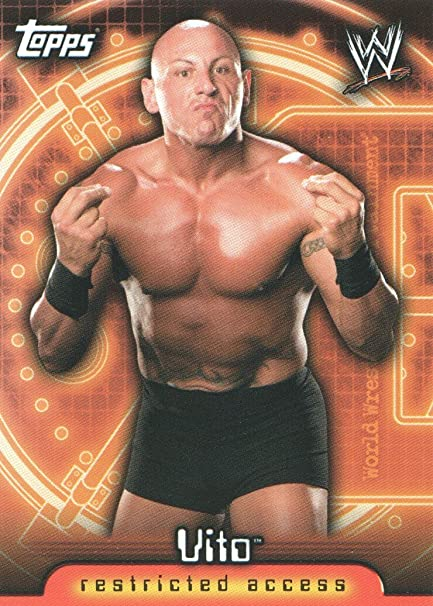 2006 Topps WWE Insider Wrestling #70 Vito at Amazon's Sports