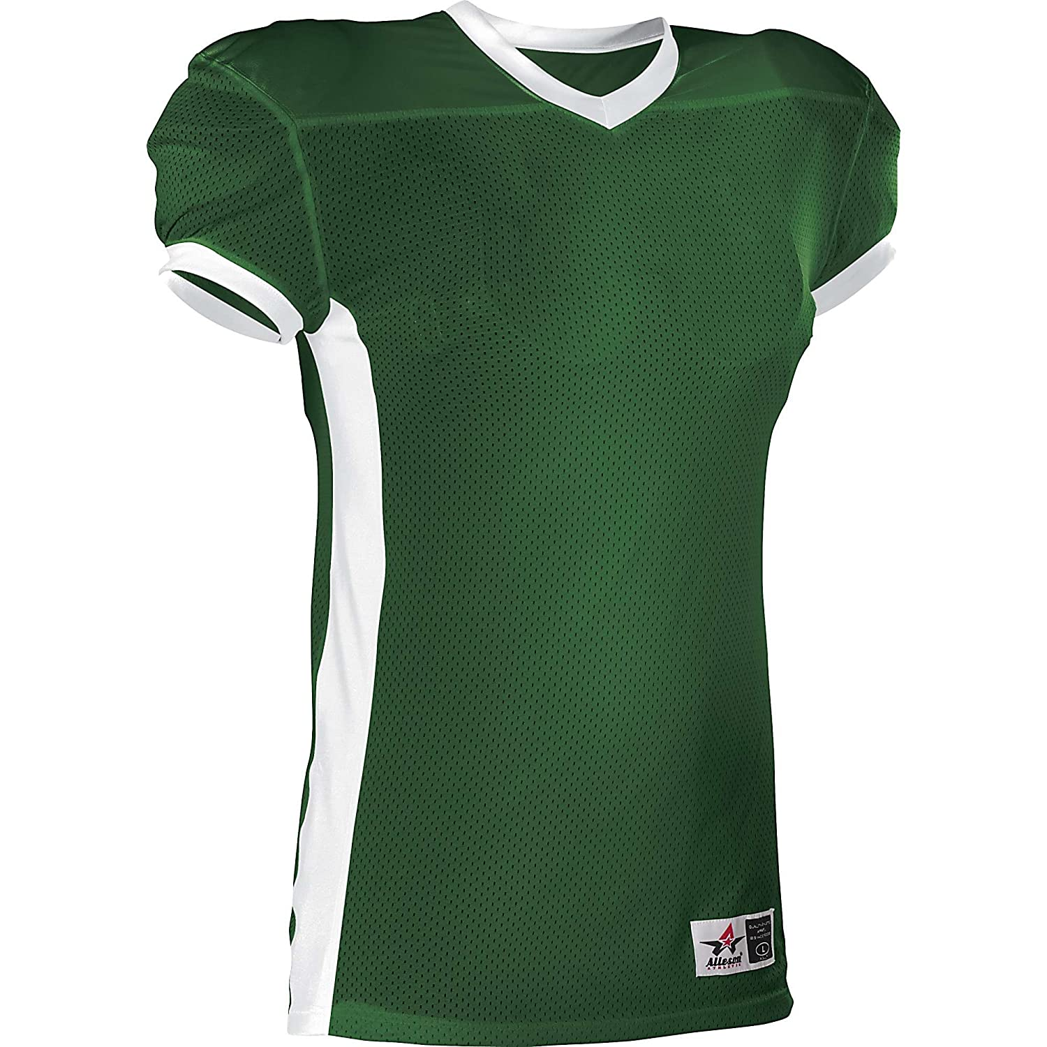 Alleson Youth Football Jersey B007ZRWNLA Small|ダークグリーン ダークグリーン Small