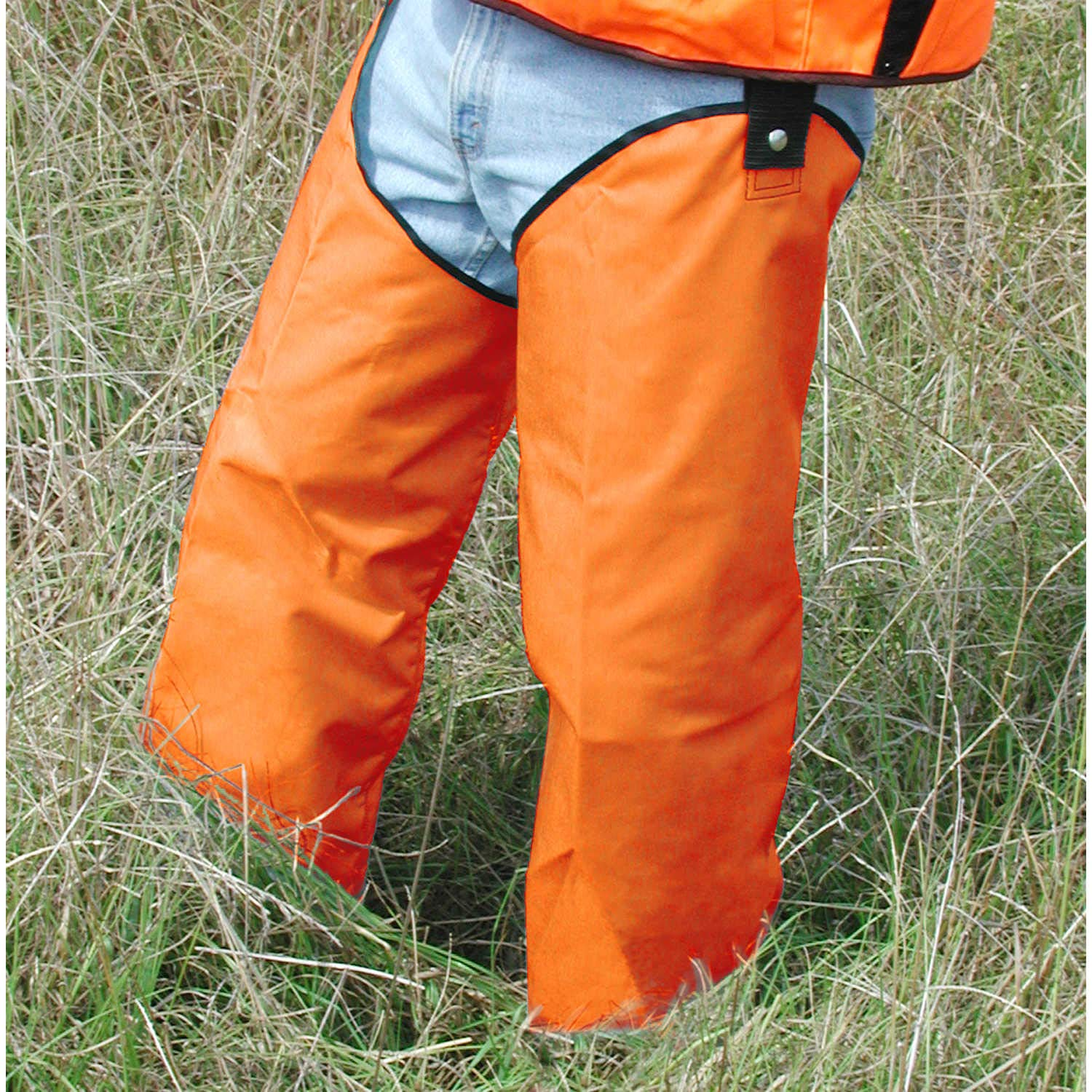 Brush Buster Chaps, Hi-Vis Orange by Forestry Suppliers