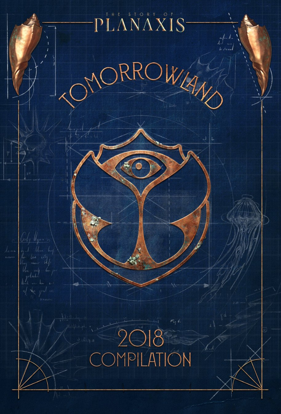 CD : VARIOUS ARTISTS - Tomorrowland 2018: Story Of Planaxis /  Various (United Kingdom - Import, 3PC)