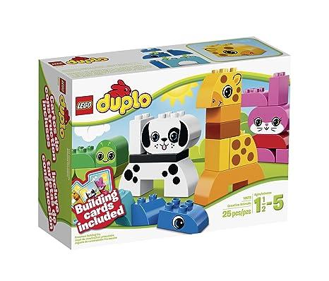 Amazoncom Lego Duplo Creative Play 10573 Creative Animals Toys