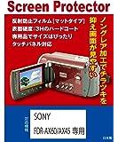 SONY FDR-AX60/FDR-AX45専用 液晶保護フィルム(反射防止フィルム・マット)