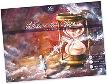 MozArt Supplies Blending And Layering Paper For Watercolor