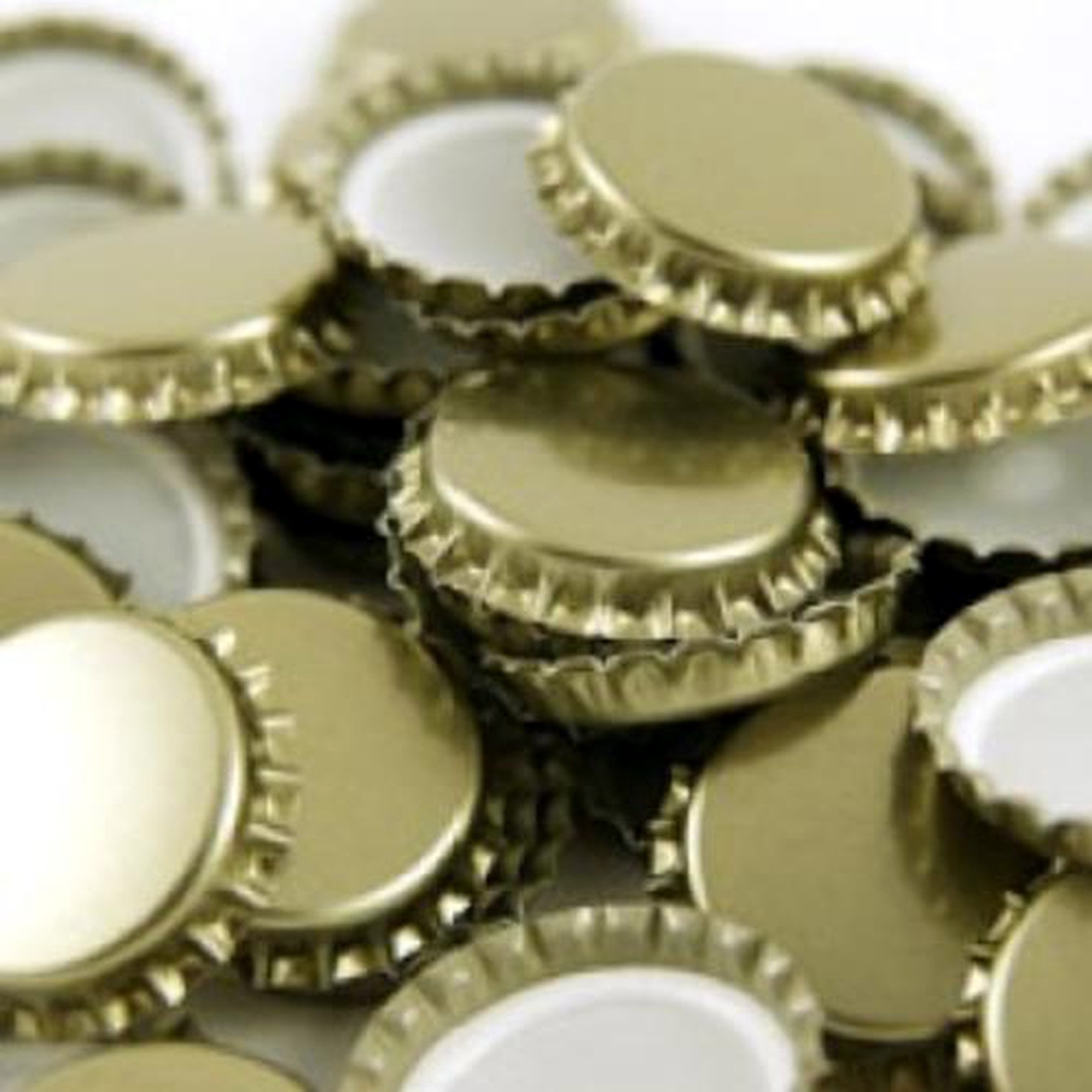 29mm Champagne and European Bottle Caps - 10 Bags of 100