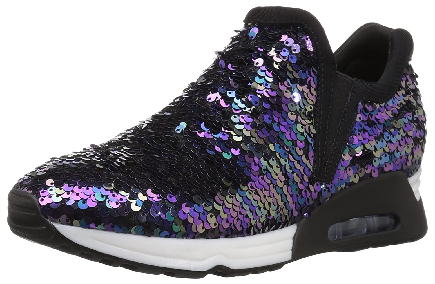 The Fix Women's Luca Slip-on Sequin Jogger Sneaker B076RC41ZS 7.5 B(M) US|Black/Multi Sequin