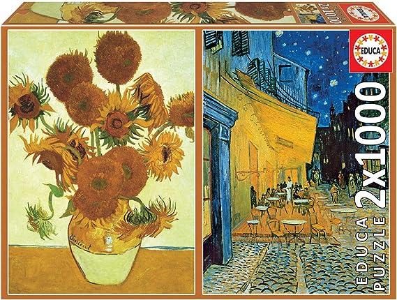 Educa- Serie Art Collection 2 Puzzles de 1.000 Piezas, Los ...