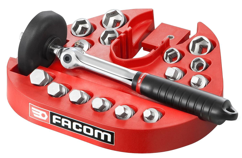 Facom D.48-KITPG - Kit de vidange - 15 embouts magné tiques - Support de travail