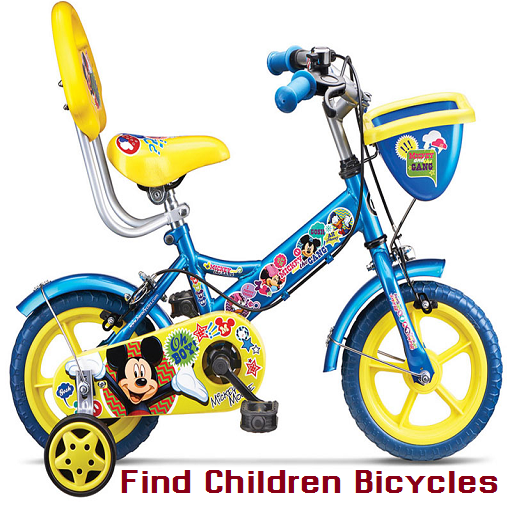Find Children Bicycles