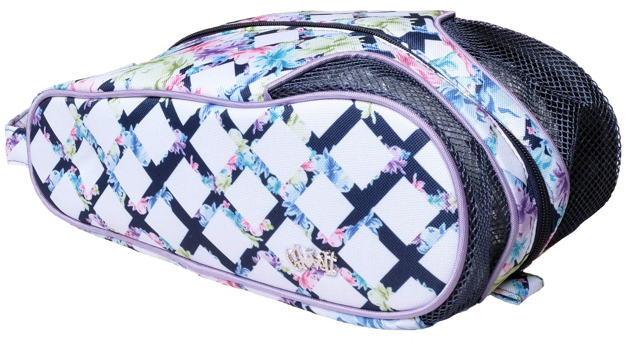 Glove It Women's Shoe Bag Ladies Shoe Bags for Travel & Storage - Womens Shoes Carrying Bag - Shoe Organizer - Mesh Air Flow Case - Gym, Sneaker, Traveling, Sports - 2019 Pastel Lattice by Glove It